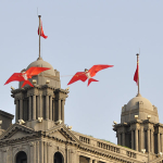 Kites on the Bund