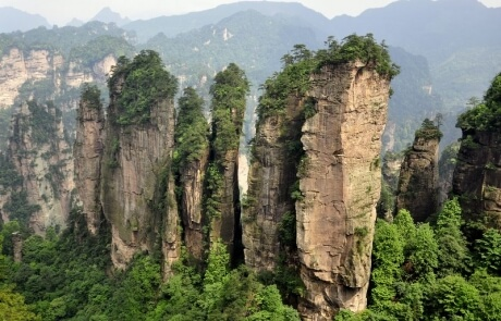 Landscapes of China: Zhangjiajie in Hunan Province, inspiration for Avatar