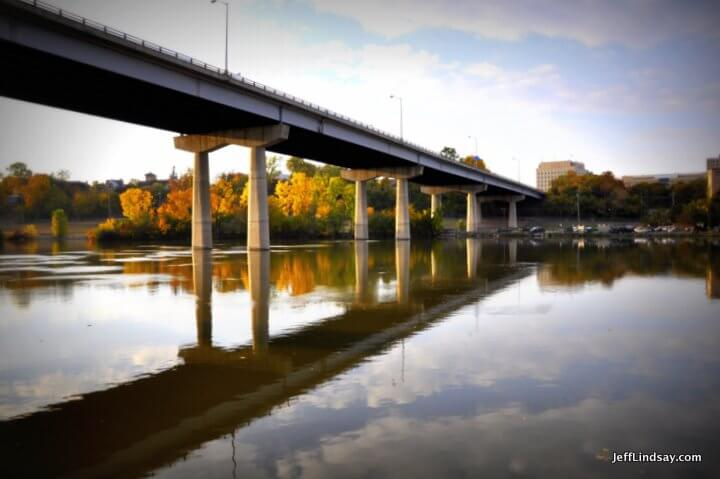 Appleton's Oneida bridge