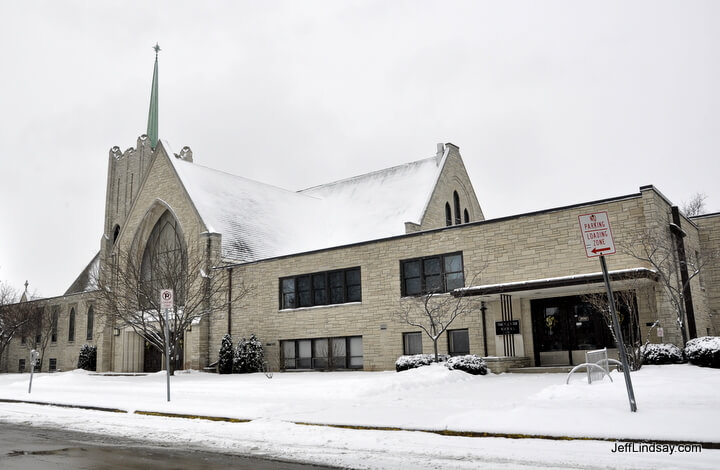 English Lutheran Church, winter 2011.