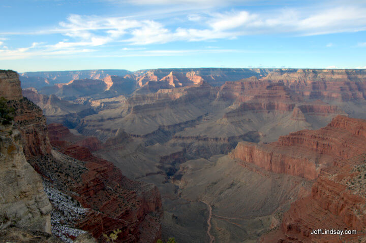 Another view of the South Rim of the Grand Canyon, Jan. 2011.