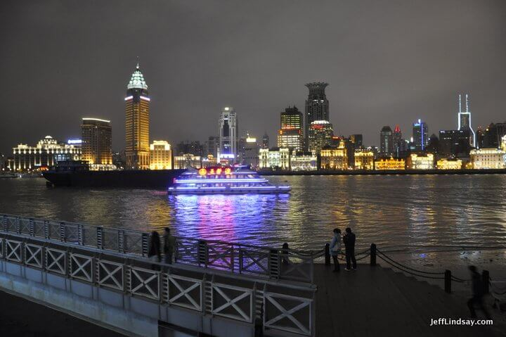 View of the Bund from the Pudong side