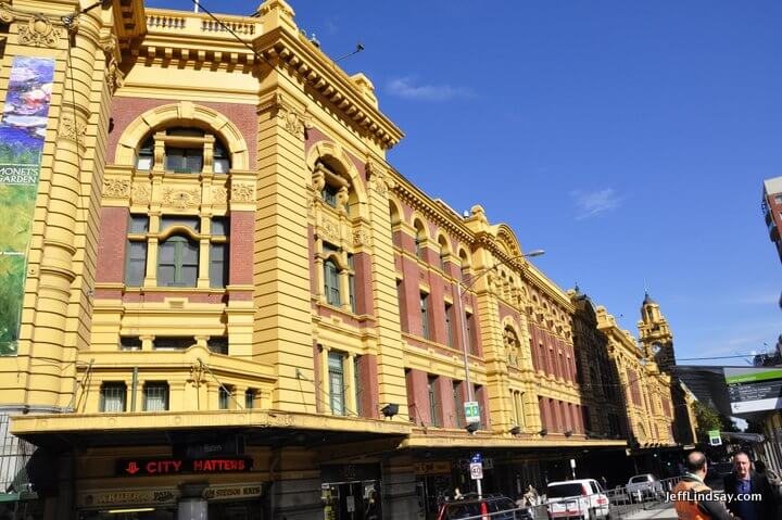 Melbourne, Australia, May 2013: The Flinders Street Station again.