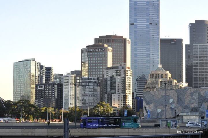 Melbourne, Australia, May 2013: Downtown