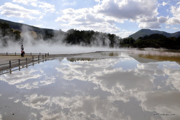 New Zealand: Champagne Pool Steam