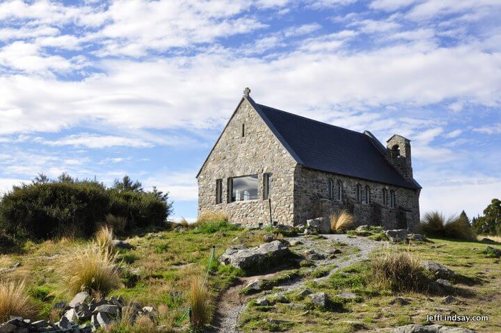 New Zealand: rock church