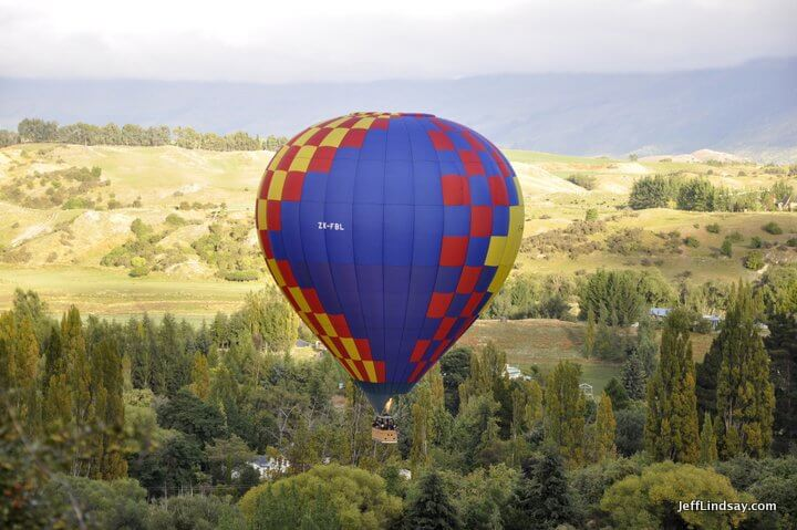 New Zealand: heated air balloon, hot air balloom