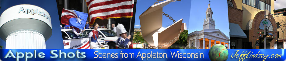 Photos from Appleton, Wisconsin and the surrounding Fox Valley. A service of JeffLindsay.com